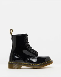 Dr Martens - Womens 1460 Patent 8-Eye Boots