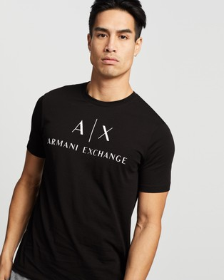 Armani Exchange Slim T Shirt - T-Shirts & Singlets (Black)