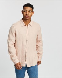Assembly Label - Casual Long Sleeve Shirt