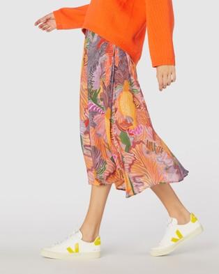 Gorman Iris Veins Skirt Skirts Multi