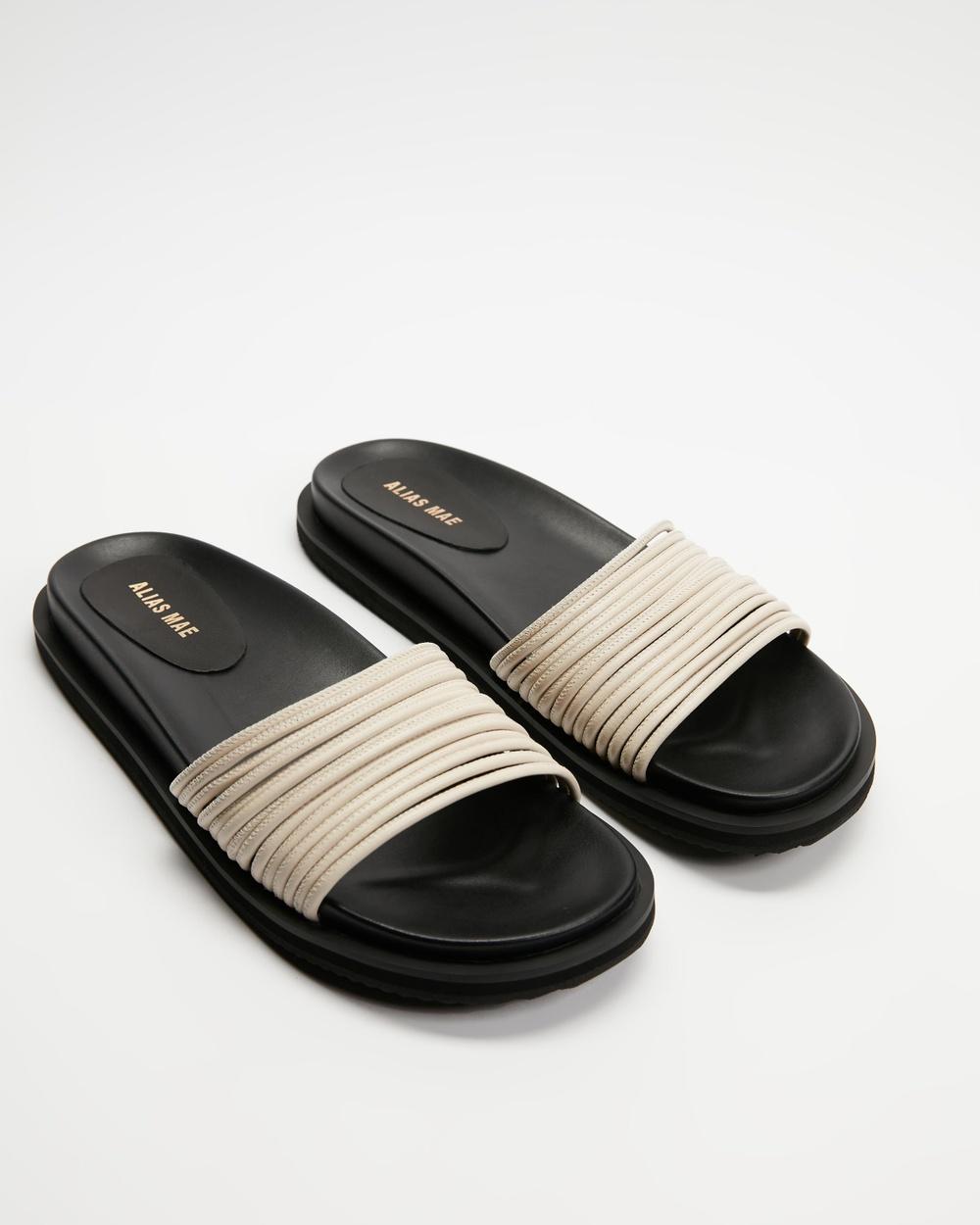 Alias Mae Solar Sandals Bone Leather