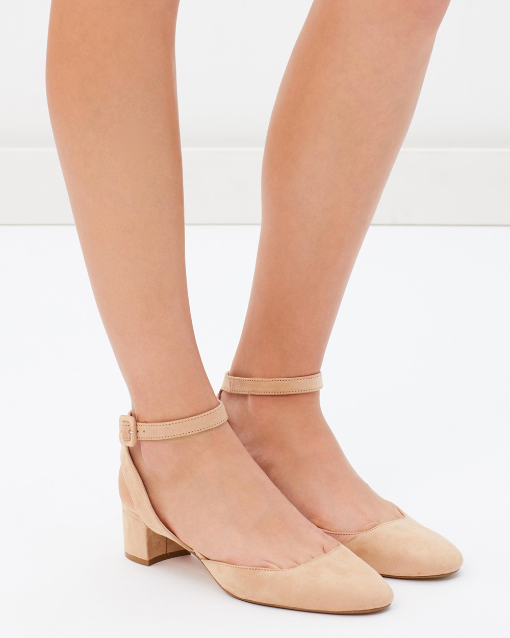 M.N.G Turne Shoes Mid-low heels Blush Turne Shoes
