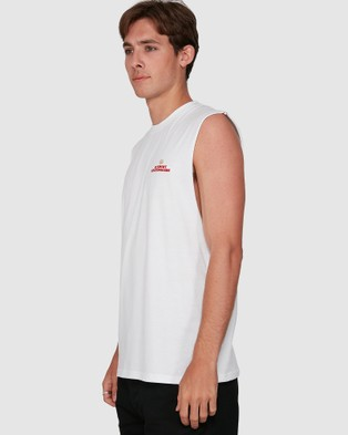 Element Future Is Nature Muscle Top - Muscle Tops (WHITE)
