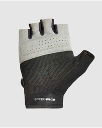 Reebok - Womens Fitness Gloves - Black & White/Small