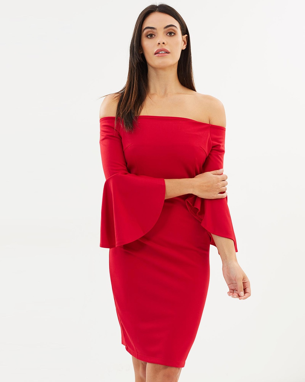 Jewels + Grace Alyson Dress Dresses Red Alyson Dress