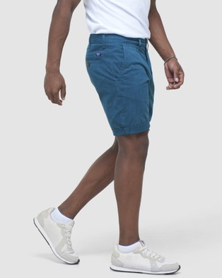 Superdry International Chino Short - Chino Shorts (Teal)
