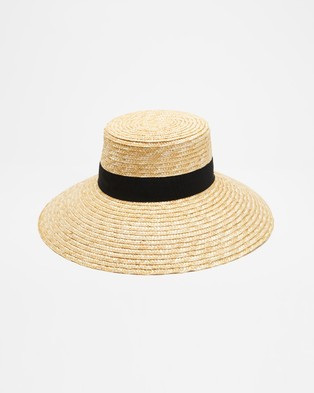 Ace Of Something Calvi - Hats (Natural & Black)