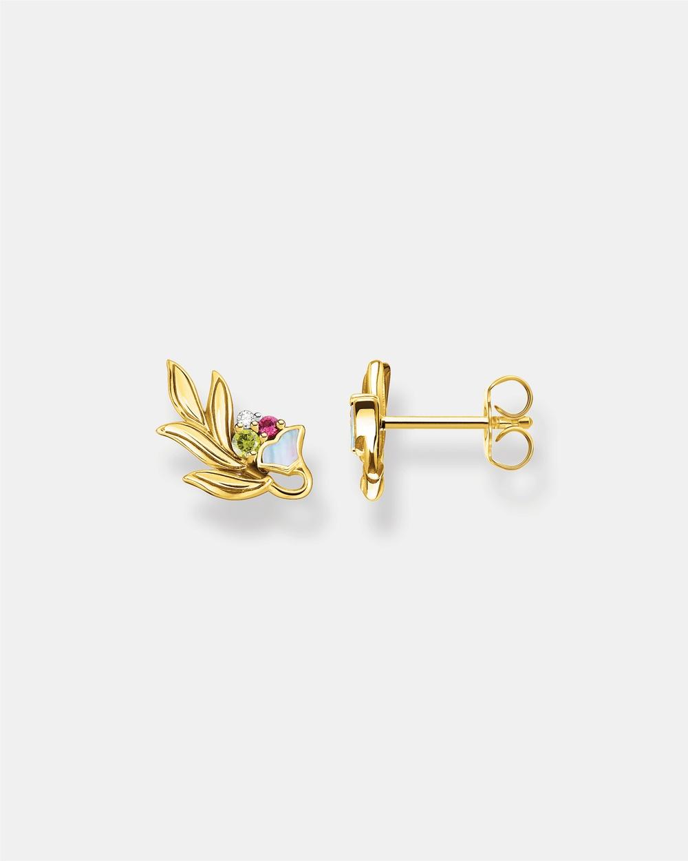 THOMAS SABO Ear Studs Flower Jewellery Multi