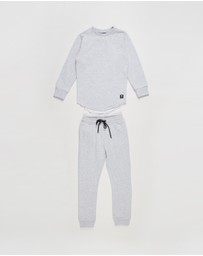 St Goliath - Crew and Trackpants Set - Teens
