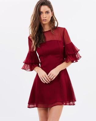 Keepsake the Label – Say You Will Mini Dress Plum