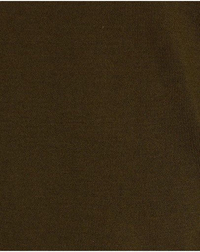 3 Wise Men The Ronald Merino Knit Army Green