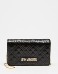 LOVE MOSCHINO - Quilted Soft Cross-Body Bag