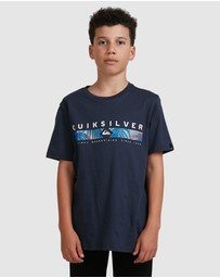 Quiksilver - Boys 8-16 Jungle Jim T Shirt