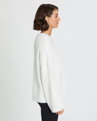 B.O.D by Rachael Finch Muse Knit - Jumpers & Cardigans (Snow White)