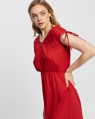 KAJA Clothing Bobbi Dress - Dresses (Red)