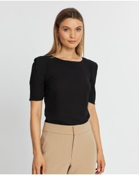 Forcast - Jacquelyn Sleeve Top