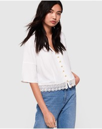 Superdry - Joesphine Lace Top