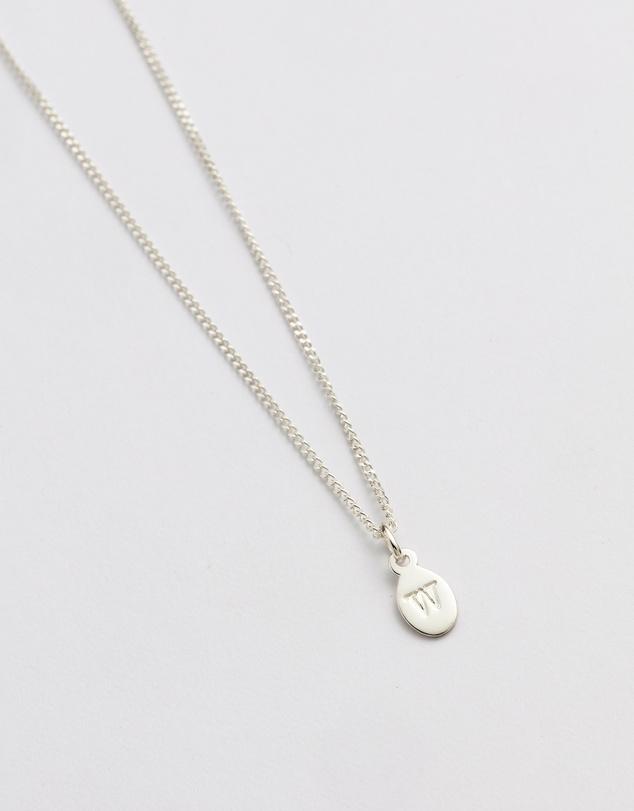 Women Initial W Necklace