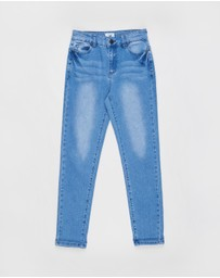 Free by Cotton On - Slim Leg Jeans - Teens