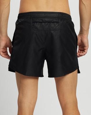 Nike Challenger Future Fast Running Shorts - Shorts (Black & Reflective Silver)