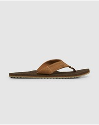 Billabong - Seaway Suede Thongs