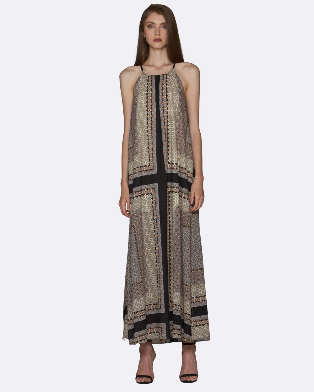 Amelius Baltic Maxi Dress Dresses Multi Baltic Maxi Dress