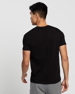 Armani Exchange Milano New York Slim T Shirt - T-Shirts & Singlets (Black)