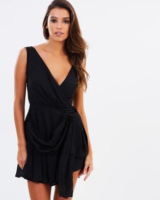 Lioness – Take Me To Cannes Mini Dress – Dresses (Black)