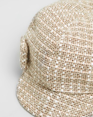Max Alexander Newsboy Fashion Cap - Headwear (Beige)