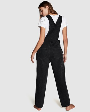 Cotton On Vintage Overalls - Jumpsuits & Playsuits (Stonewash Black)