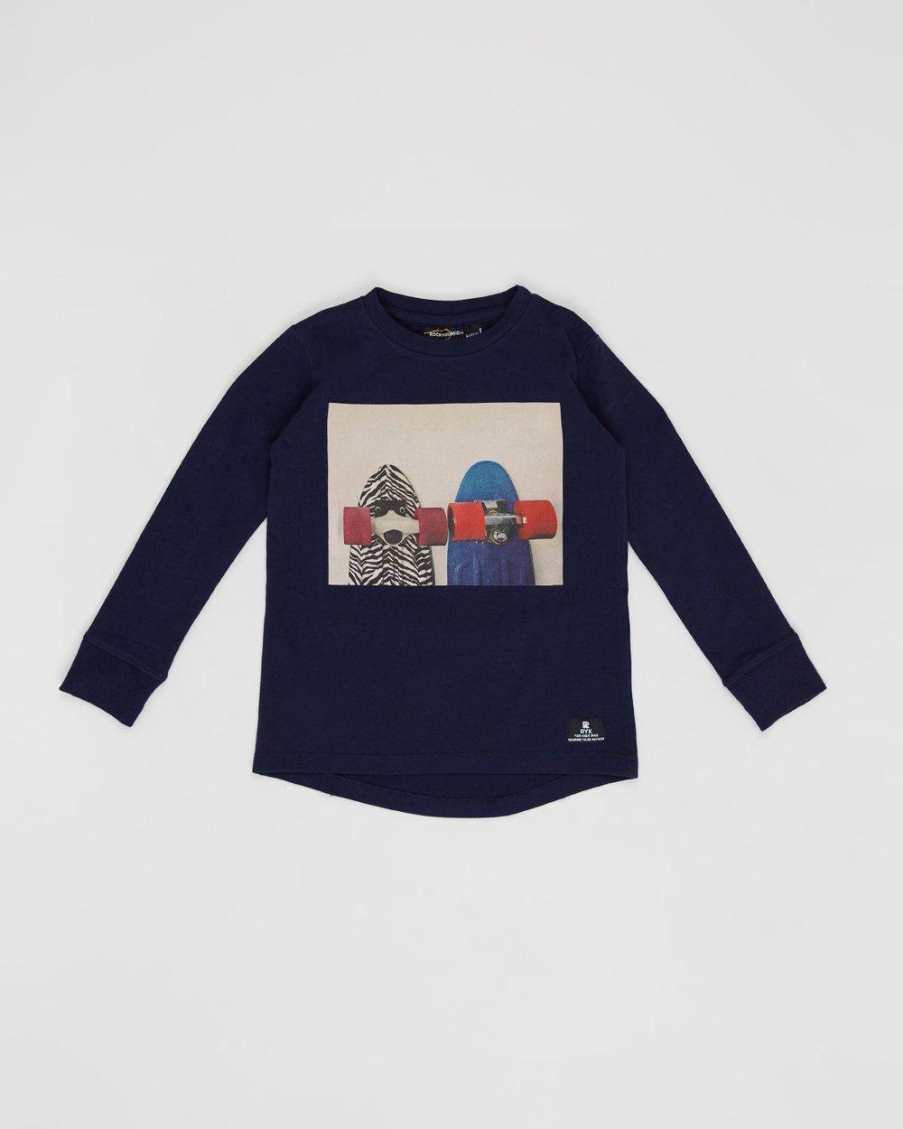 7e8ce3da Today We Ride Long Sleeve T-Shirt - Kids