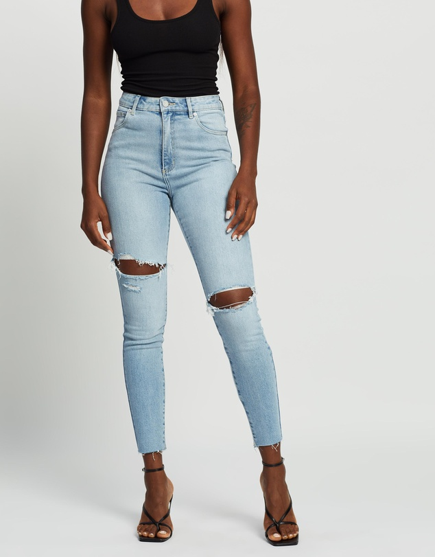 Abrand - A High Skinny Ankle Basher Jeans