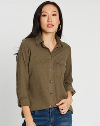 Dorothy Perkins - Button-Down Utility Shirt