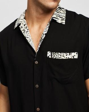 The People Vs. Mason Shirt - Casual shirts (Black & Half Breed)
