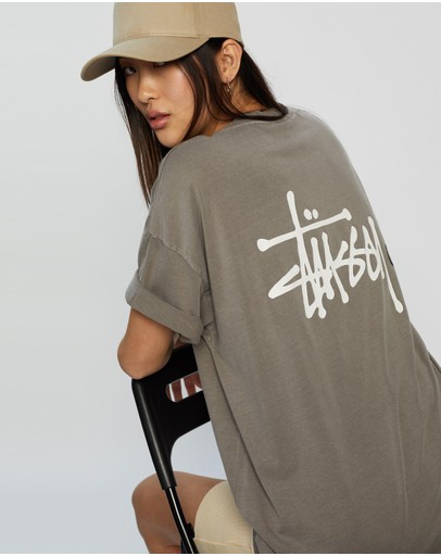 Stussy Graffiti Pigment Relaxed Tee Atmosphere
