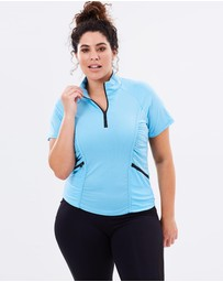 Curvy Chic Sports - Stay Cool Short Sleeve Top