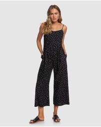 Roxy - Womens In A Sunrise Strappy Wide Leg Jumpsuit