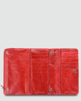 Status Anxiety Audrey   Red Wallet - Wallets (Red)