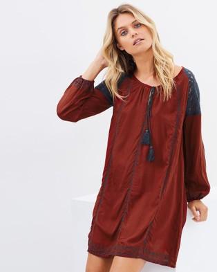 Kaja Clothing – Melina Tunic Maroon