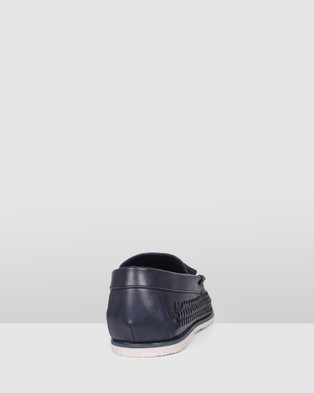 JM Benjamin - Dress Shoes (Navy)