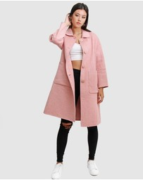 Belle & Bloom - So Chic Wool Blend Coat