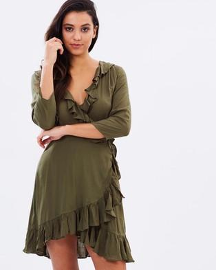 Cartel & Willow – Floyd Dress – Dresses (Khaki)