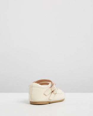 Anchor & Fox - Seville Mary Jane Kids Flats (Cream)