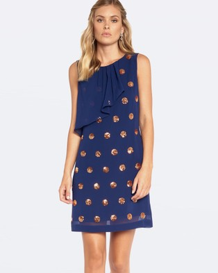 Alannah Hill – The Art Of Style Dress – Dresses (Navy)