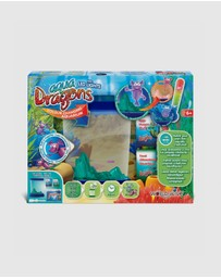 Aqua Dragons - Colour Changing Box Kit With LED Lights - Kids
