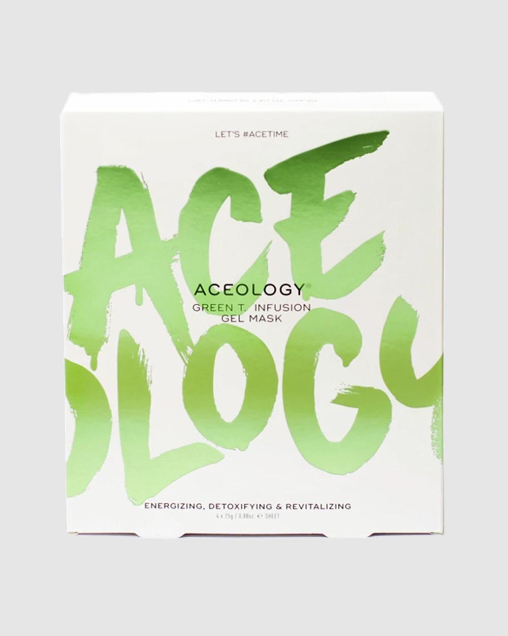 Aceology Green T. Infusion Gel Mask Beauty Green Tea
