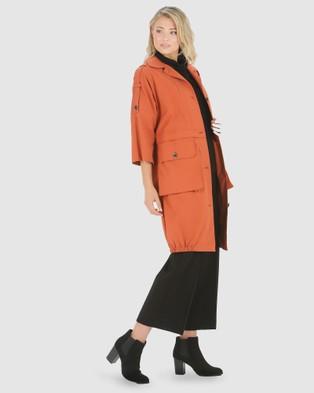 Privilege Utility Coat - Coats & Jackets (Volcano)