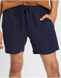 AERE - Linen Pull On Shorts