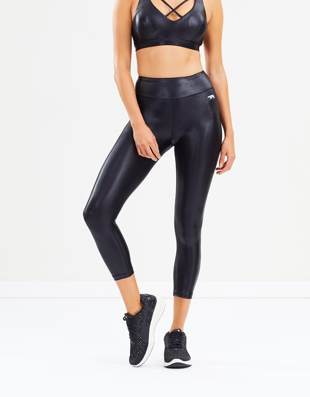 Running Bare - High Rise 7/8 Tights
