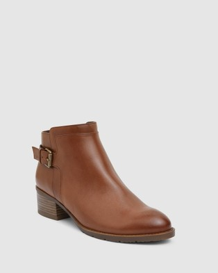 Easy Steps Fresco - Boots (MID BROWN)